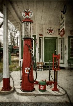 GOOD LIFE & GOOD TASTE: Old gas station