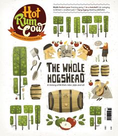 Hotrumcow by Peter Donnelly, via Behance