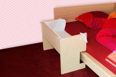 Baby Beistellbett für Malm Bett (niedrige Version)