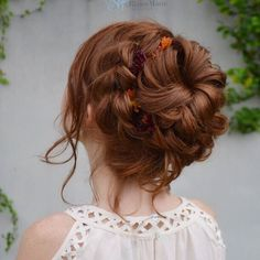 Braided Holiday Updo Updos, Braids, Dreadlocks, Hair Styles, Holiday, Instagram Posts, Beauty, Up Dos, Bang Braids