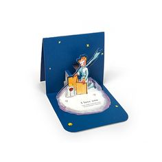 le petit prince - pop up card