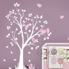 I love this wall decal. Will be my next for baby girl room. :)