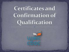 #Replacement_certificates.co.uk Each centre will determine the most appropriate method of distributing the certificates to the candidates. If you have not received your examination certificat http://www.slideshare.net/JesiKa3/certificates-and-confirmation-of-qualification