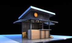 Cafe'B Kiosk Design, Cafe Design, Booth Design, Food Court Design, Outdoor Grill Station, Mini Cafe, Electrical Stores, Food Kiosk, Cafe Concept