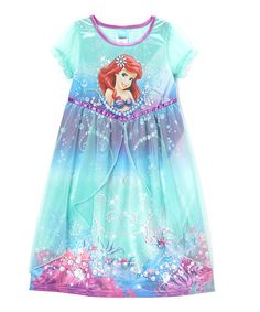 Look at this Aqua & Purple Ariel Fantasy Nightgown - Girls by Disney My Princess, Little Princess, Princess Room, Disney Princess, Toddler Girl Outfits, Outfits For Teens, My Little Girl, The Little Mermaid, Disney Insider