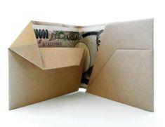 折り紙のお財布