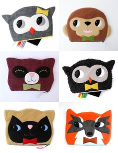 One Little Red Fox: Pouches and Plushes