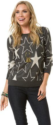 LUCCA STAR SWEATER | Swell.com