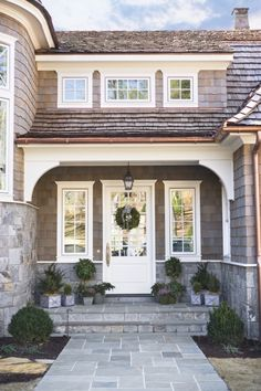 """Nantucket style"" on Lake Keowee, SC. Linda McDougald Design."