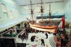 Replica of Captain Cook's Endeavour hangs in the Cleveland Centre - Joanne Welford - Gazette Live The Endeavour, Home History, Cheap Holiday, Middlesbrough, Cleveland, Childhood Memories, Nostalgia, Cooking, Centre