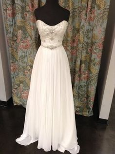 Back Zipper: Maggie Sottero Adele Wedding Dress $823