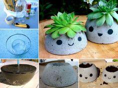 Concrete Pots Ideas