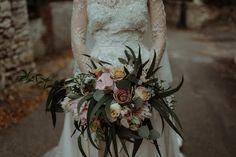 Bouquet de mariée Kinfolk │Kinfolk bridal bouquet │Photographe : The Kitcheners