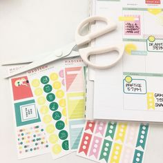 Are you a neat planner a messy planner? Either way, you're a planner! Show us how you're using our stickers and stamps!