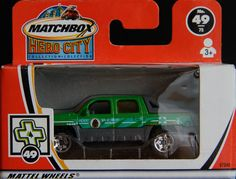 Model Matchbox Chevrolet Avalanche