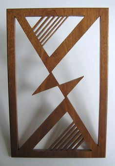 Triangles in Alignment Fretwork by FredArndtArtworks on Etsy, $175.00