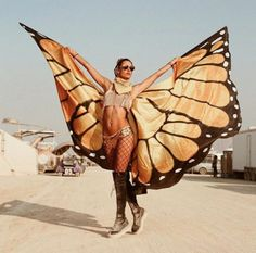 Check Out the Wildest Celebrity Looks from Burning Man 2017 via Brit Co