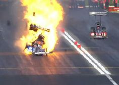 Drag Race Driver Antron Brown Survives Scary Dragster Crash After His Engine Explodes At Pomona (Video)