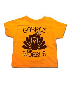 Take a look at this Mandarin 'Till You Wobble' Tee - Toddler & Kids on zulily today!