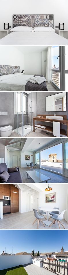 This beautiful rental apartment is located right in the heart of Seville, Spain. A place I must visit someday!  http://www.reidunbeate.com/2015/10/19/ny-leilighet-i-historisk-hus-i-sevilla/