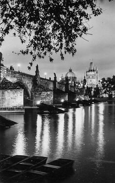Prague of yesteryear. Courtesy of Vilém Heckel Archive Old Photography, Czech Republic, Black And White Photography, Old World, Cure, Archive, Shots, River, Create