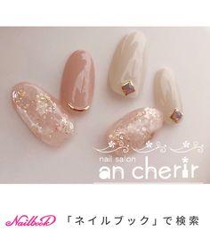 ネイル ネイル in 2020 Luv Nails, Pretty Nails, Bride Nails, Wedding Nails, Japan Nail Art, Office Nails, Korean Nail Art, Bridal Nail Art, Gel Nail Art