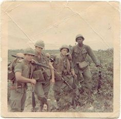 3rd platoon, Alpha Company, 1st Battalion, 12th Infantry Regiment. Some soldiers from the division operating in Quang Tri province in 1968.