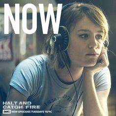 "Halt and Catch Fire ""The Threshold"" (3x07) - Mackenzie Davis as Cameron Howe"