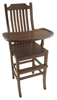 Attrayant Amish Mission High Chair