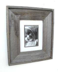 "Barnwood Picture Frame - 5""x7"""