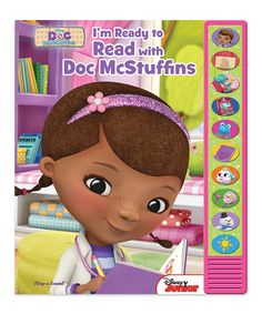 Loving this Doc McStuffins I'm Ready to Read Sound Book on #zulily! #zulilyfinds