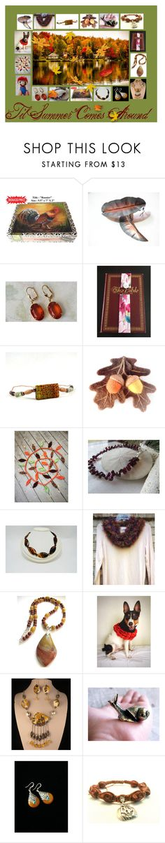 """Til Summer Comes Around: Handmade Gift Ideas"" by paulinemcewen ❤ liked on Polyvore featuring Nintendo, Shamballa Jewels, rustic and country"