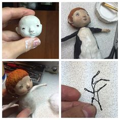 239 отметок «Нравится», 9 комментариев — Елена Злоказова (@elenazlokazova) в Instagram: «Скоро будут ангелы... Как же я по ним скучала! Хочу ёлку с ангелами, но они разлетаются)) #ангелы…» Clay Dolls, Art Dolls, Paper Mache Crafts, Plush Pattern, Paperclay, Air Dry Clay, Fairy Art, Cold Porcelain, Diy Doll