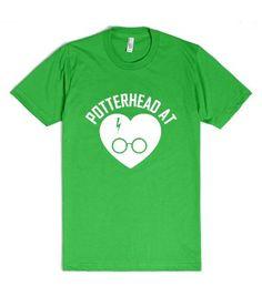 HARRY POTTER - POTTERHEAD AT HEART WHITE