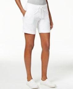 32456e6a0b616 Calvin Klein Performance Drawstring Shorts   Reviews - Shorts - Women -  Macy s