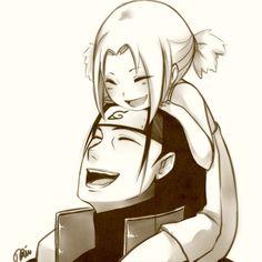 Aww so cute!!!!! ^_^ Hashirama and Tsunade