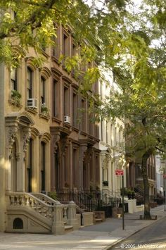 NYC. Brooklyn Heights. My aunt's neighborhood which I used to frequent but have not been to visit since Boy was born.