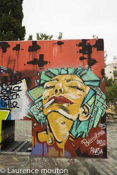 tags, street art, Barcelona,