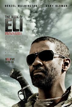 """The Book of Eli""  In addition to the fact that this movie has my son's name in the title...  It is a genuinely interesting and enjoyable movie like nothing you've ever seen."
