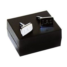 Engraved Rectangle Cufflinks  from www.personalisedweddinggifts.co.uk :: ONLY £14.95