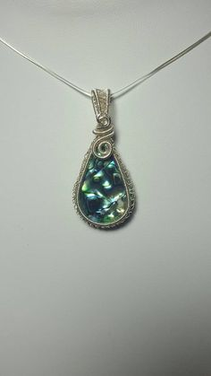 Check out this item in my Etsy shop https://www.etsy.com/uk/listing/466804664/wirework-abalone-pendant-gift-for-her