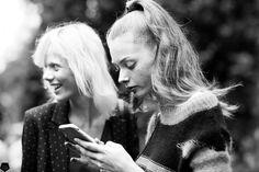 """cgstreetstyle: """" Lauren de Graaf & Marjan Jonkman by Claire Guillon - CGstreetstyle """""""