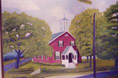 Hedgesville, West Virginia, Mt. Zion church painting.