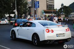 Nissan GT-R 2014 in Budapest, Hungary Spotted on by Marcoo Nissan Gtr R35, Dream Cars, Bmw