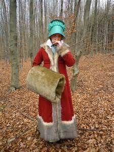 Another fur winter outfit | Regency attire | Pinterest