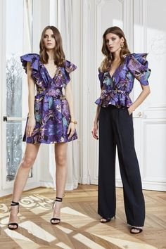 Zuhair Murad Fall 2020 Ready-to-Wear Fashion Show - Vogue Fashion Week, Fashion 2020, High Fashion, Fashion Hub, Style Couture, Haute Couture Fashion, Vogue Paris, Zuhair Murad Bridal, Fashion Prints