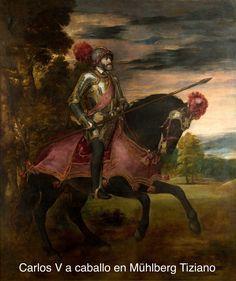 El retrato ecuestre de Carlos V en Mühlberg