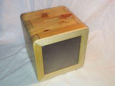 Wooden Money Box by NedsShop on Etsy