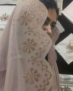 Kaftan, Wedding Dresses, Fabric, Pattern, Instagram, Shopping, Angles, Diy Crafts, Embroidery