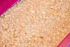 Zdrowe batony bananowo-orzechowe (4 składniki) - Wilkuchnia Oatmeal, Breakfast, Food, The Oatmeal, Morning Coffee, Rolled Oats, Essen, Meals, Yemek